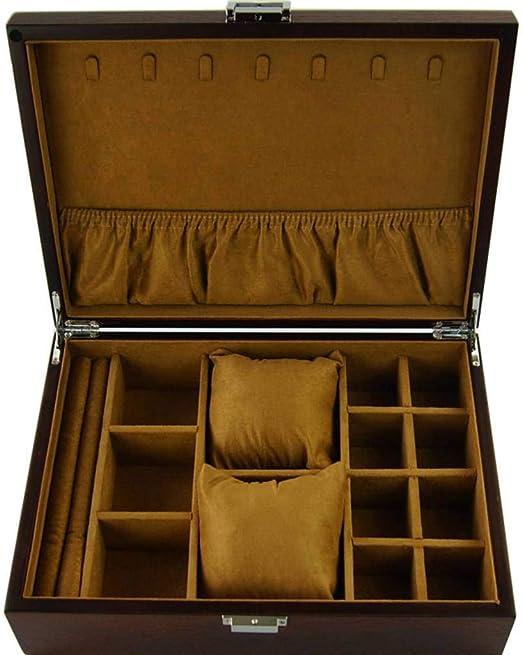 GOVD Caja Guardar Relojes Madera Exhibición de Relojes Caja ...