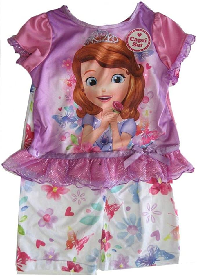 Whatnaught and Clover Nightgown Disney Girls Size 2//3 Sofia the First Gown