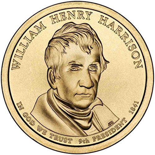 2009 D Harrison Presidential Dollar Choice Uncirculated