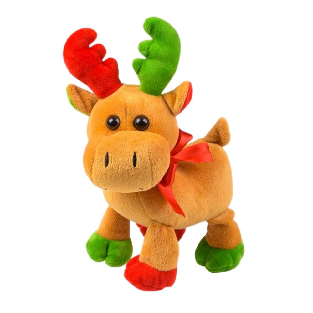 Amazon Com The Old Blue Door Plush Holiday Moose Stuffed Animal Toy