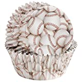Wilton Baseball Party Baking Color Cups 36 Pack Candy Cupcake Cake Muffin Liners