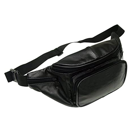 c71698ed2fc Preferred Nation Leather Fanny Pack, Black