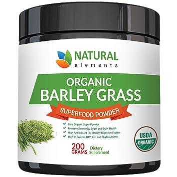 Amazon.com: Polvo de hierba de hierba de la cebada de la ...