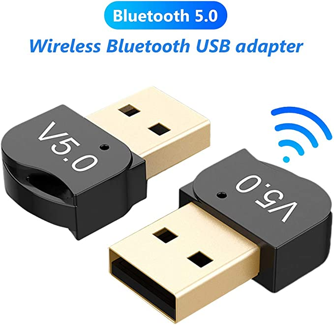 USB Bluetooth AUX Adapter,Mini Wireless Bluetooth 5.0 Dongle