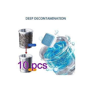 DIANZHI (10 pack) Limpiador para lavadora Limpiador para bañera ...