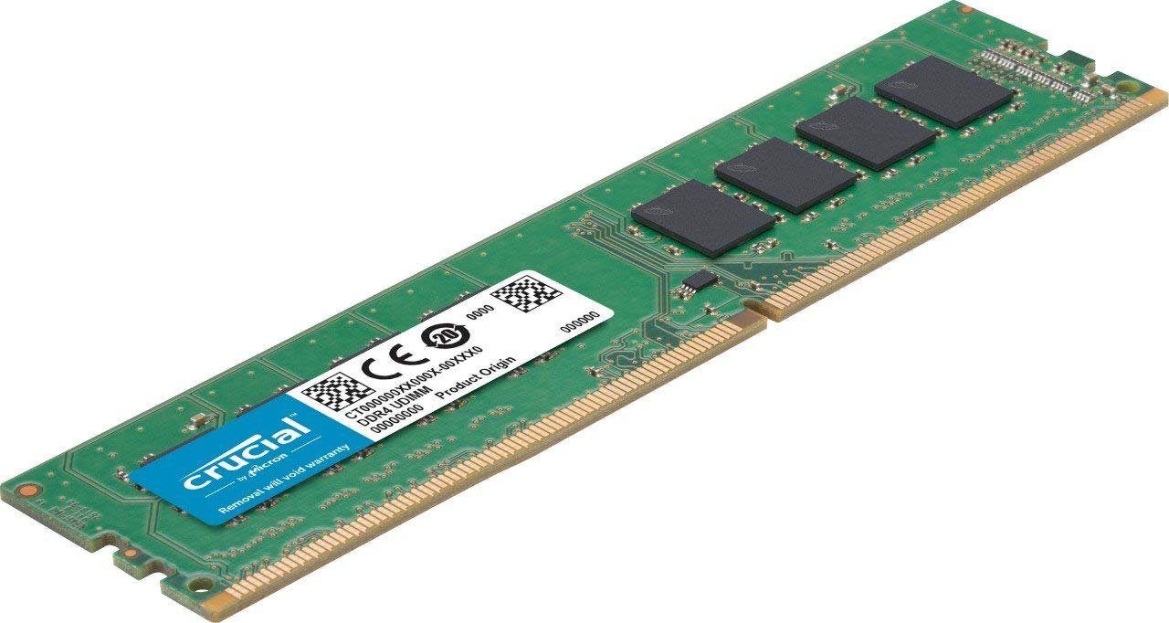 Crucial CT8G4DFS824A - Memoria RAM de 8 GB (DDR4, 2400 MT/s, PC4-19200, Single Rank x 8, DIMM, 288-Pin)