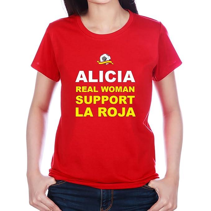 Camiseta Personalizada con Nombre Real Woman ...