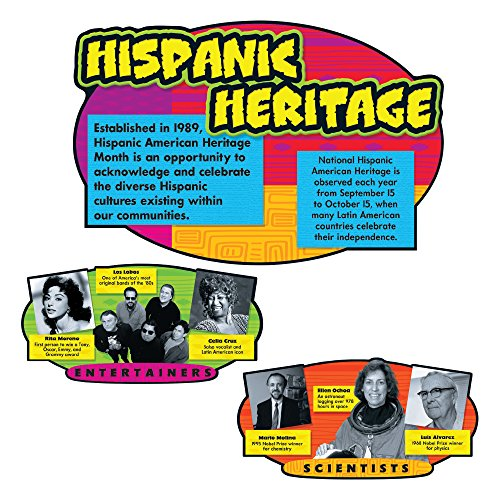 Trend Enterprises Hispanic Heritage Bulletin Board Set (T-8145) Photo #1
