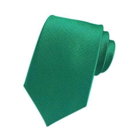 XJIUER corbata Diseño Original 8cm Poliéster Hombres Plaid Tie ...