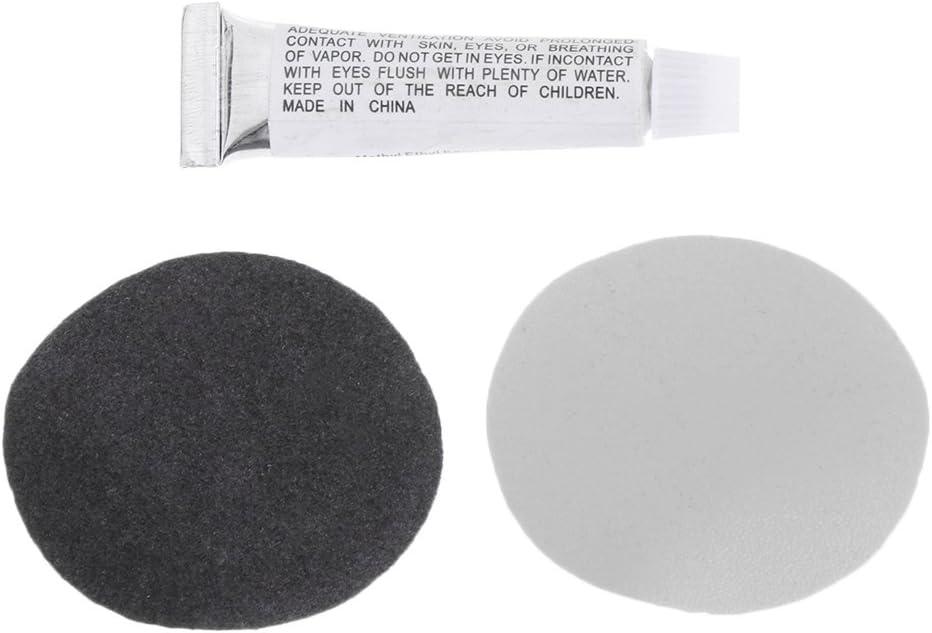 Qiman - Kit de reparación de parches para colchón de aire, 1 unidad de PVC inflable