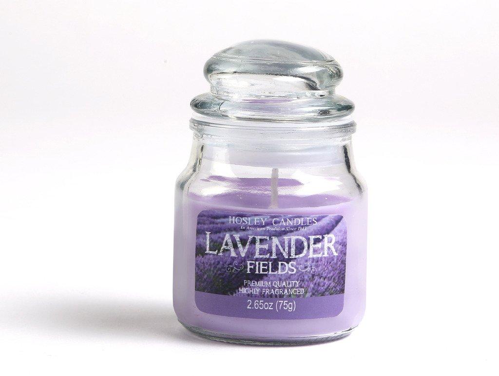 Hosley Lavender Fields Highly Fragranced Jar Candle