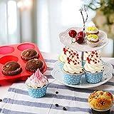 12 and 24 Mini Sizes Silicone Muffin Pan Cupcake