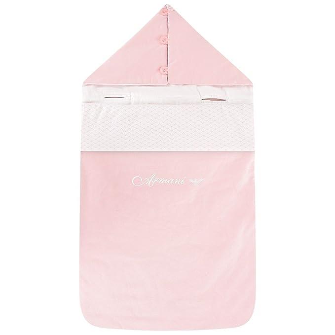 Armani - Saco de dormir - para bebé niña Rosa Talla única: Amazon.es: Ropa y accesorios