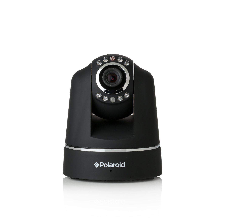 Polaroid IP200 - Cámara de vigilancia inalámbrica, grabación audio-vídeo de alta calidad, movimiento horizontal y vertical con mando a distancia, ...