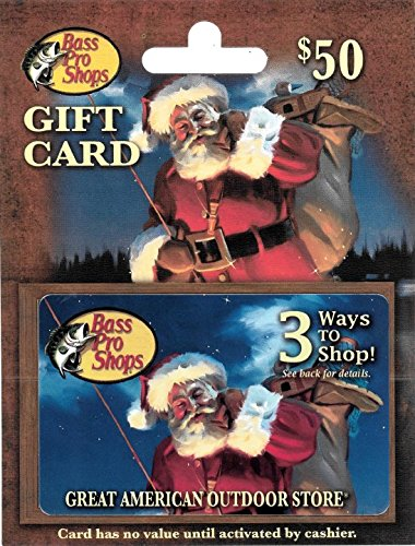 (Bass Pro Shops Holiday $50 Gift Card)