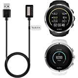 TUSITA Charger For Suunto Spartan Ultra /Spartan Ultra HR / Spartan Sport /Spartan Sport HR (3.3ft/100cm),Replacement USB Charge Charging Cable Cord Wire Clip Dock Data Sync