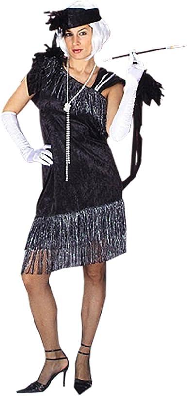 Disfraz de charlestón - vestido de dos piezas con cinta, para ...