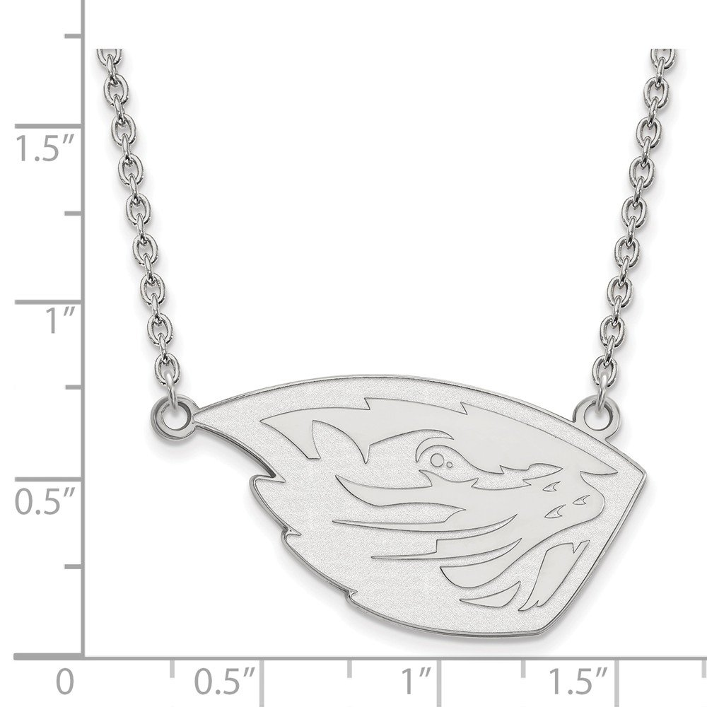Collegiate Oregon State University SS Oregon State University Large Pendant with Necklace