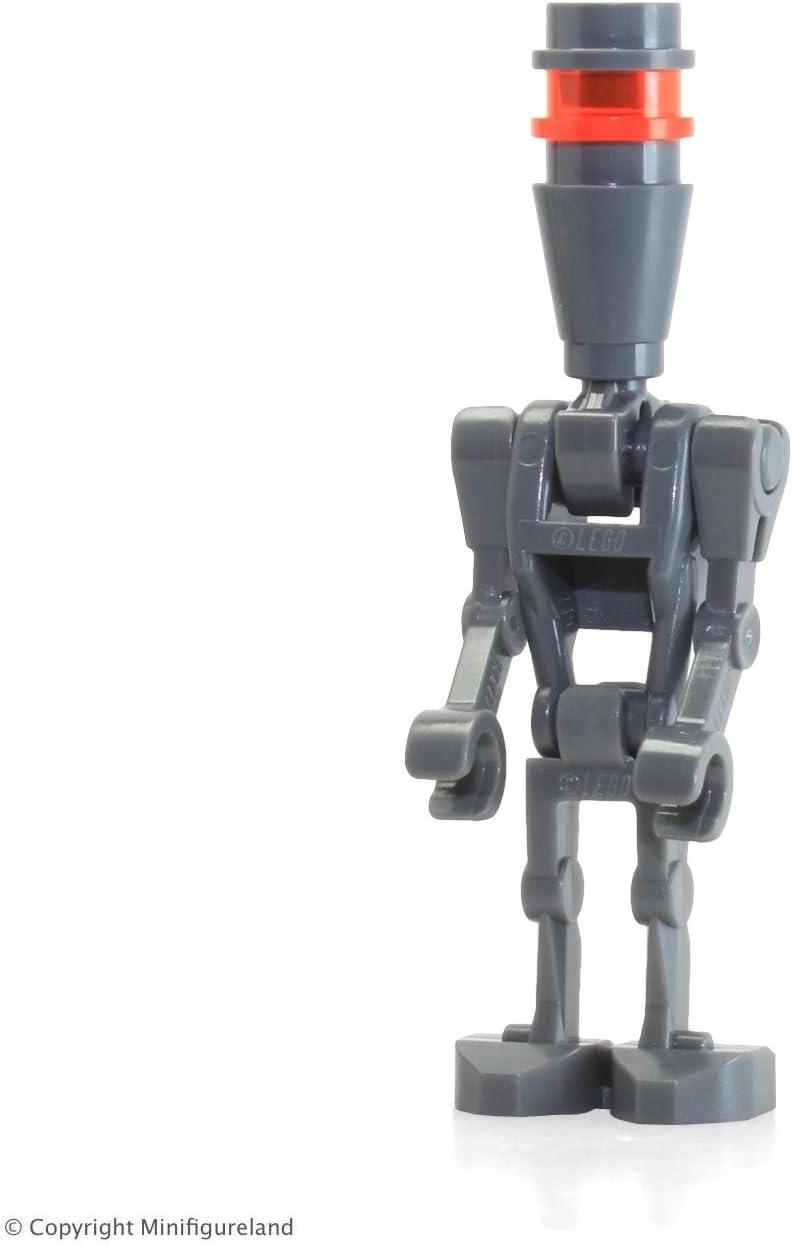 LEGO Star Wars Minifigure - Assassin Droid (Dark Bluish Gray) from Set 75097