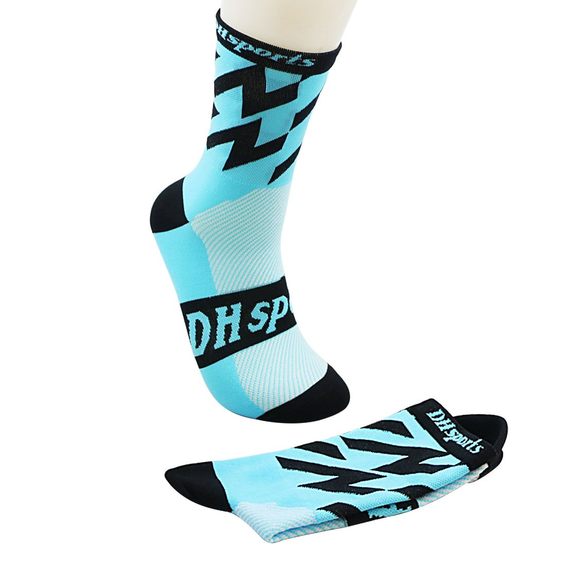 YAMALL Riding Cycling Socks Bicycle Sports Socks Breathable Long Socks Men Women iHen-Tech