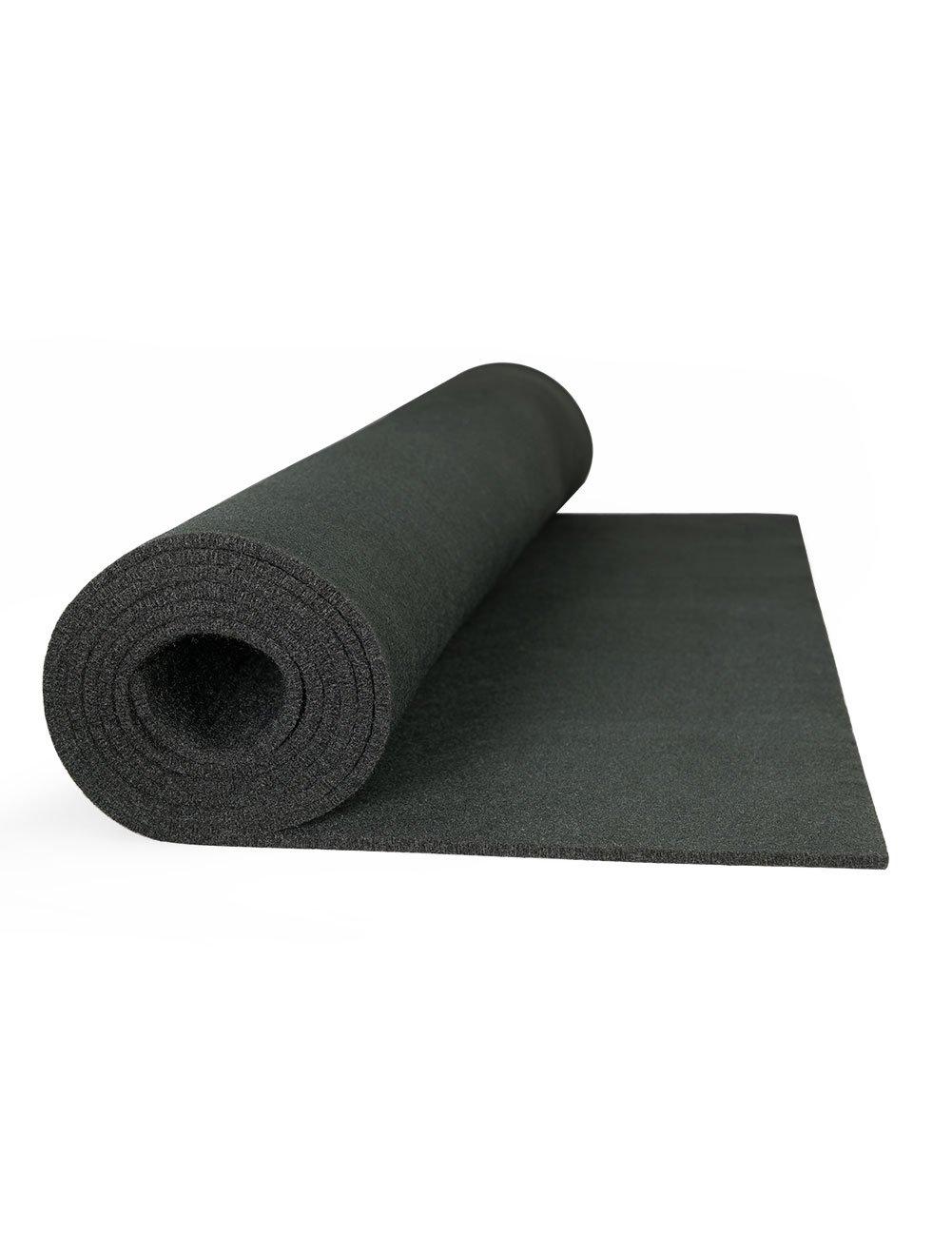 High Temp Felt Welding Blanket: 72'' Wide X 2 Yd Long, Black