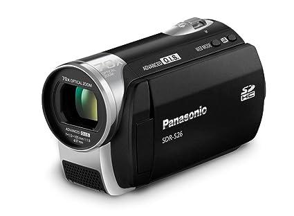 amazon com panasonic sdr s26 sd camcorder black camera photo rh amazon com Microphones Panasonic SDR -H60 Panasonic SDR- H60P PC