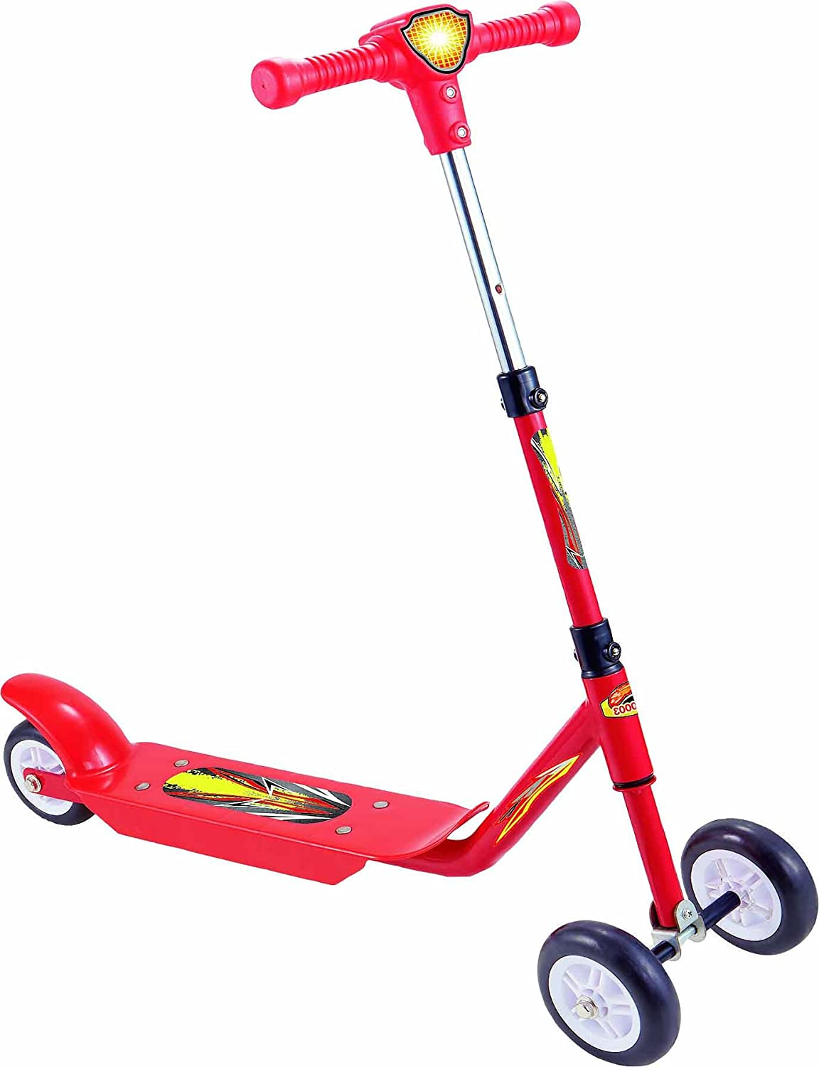 Woodfield - Patinete infantil rosa Scooter Motion 3 rueda ...