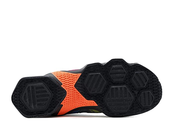 check out 1d400 5743e Amazon.com   Nike Mens Lebron XIII BLACK BLACK-HYPER ORANGE-BLUE LAGOON  Basketball Shoe - 10.5 D(M) US   Basketball