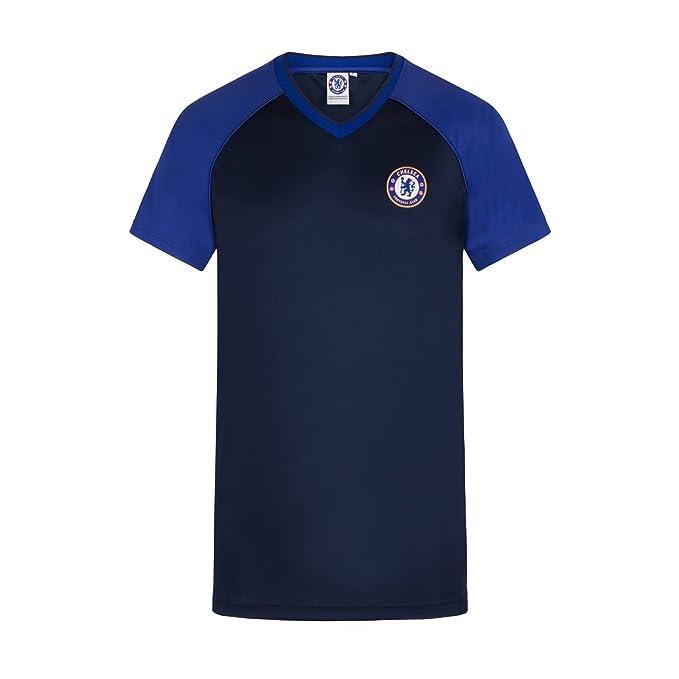 Chelsea FC - Camiseta oficial de entrenamiento - Para hombre - Poliéster ObjWyZK8