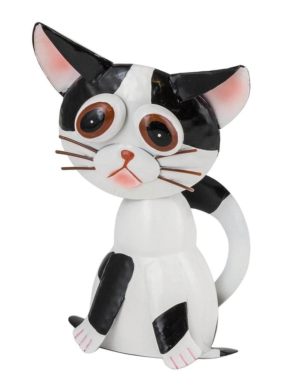 Metal Fountasia Funky Pet Clarissa Figura Decorativa de Gato