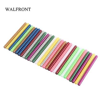 Amazon com: 1 lot WALFRONT 30pcs/Lot Mixed Color Hot Glue