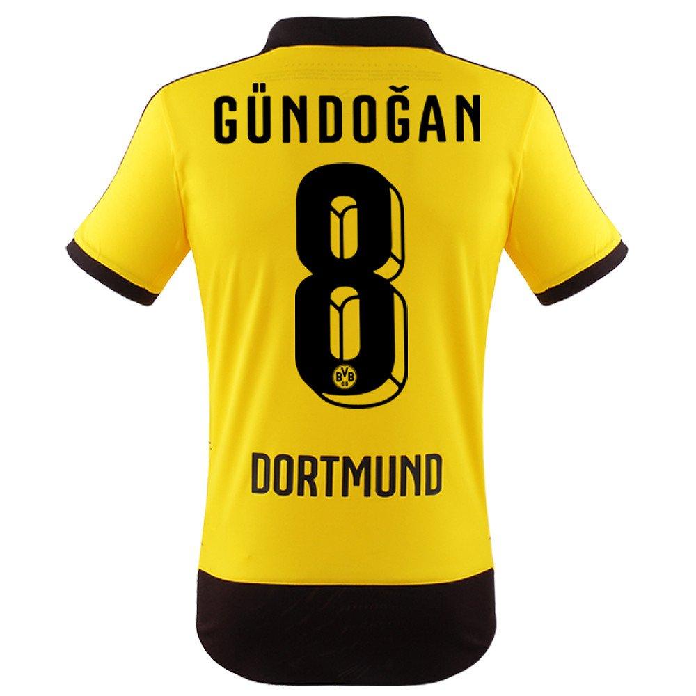 Adidas BVB Dortmund Home Trikot 2015 16 - GÜNDOGAN, Kinder
