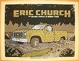 2012 Eric Church - Binghamton Concert Poster by