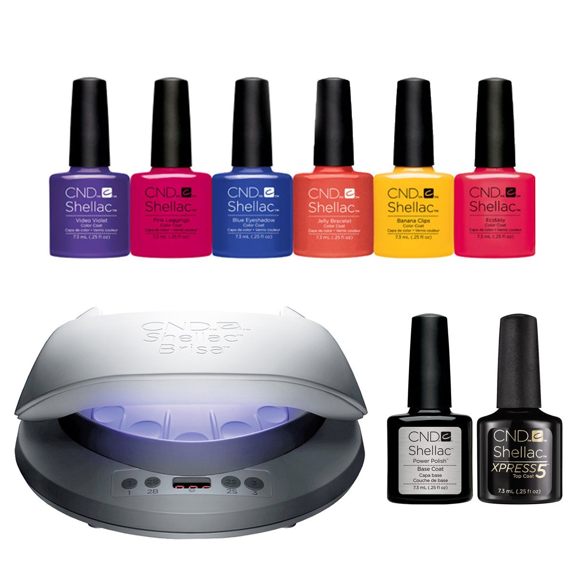 2017 CND Shellac NEW WAVE Collection inc CND LED Lamp, 6 CND ...