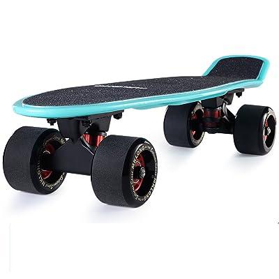 Assiettes de poissons skate/Banane/Enfants adultes de roue route quatre/Scooter adulte/72MMGrande roue skateboard