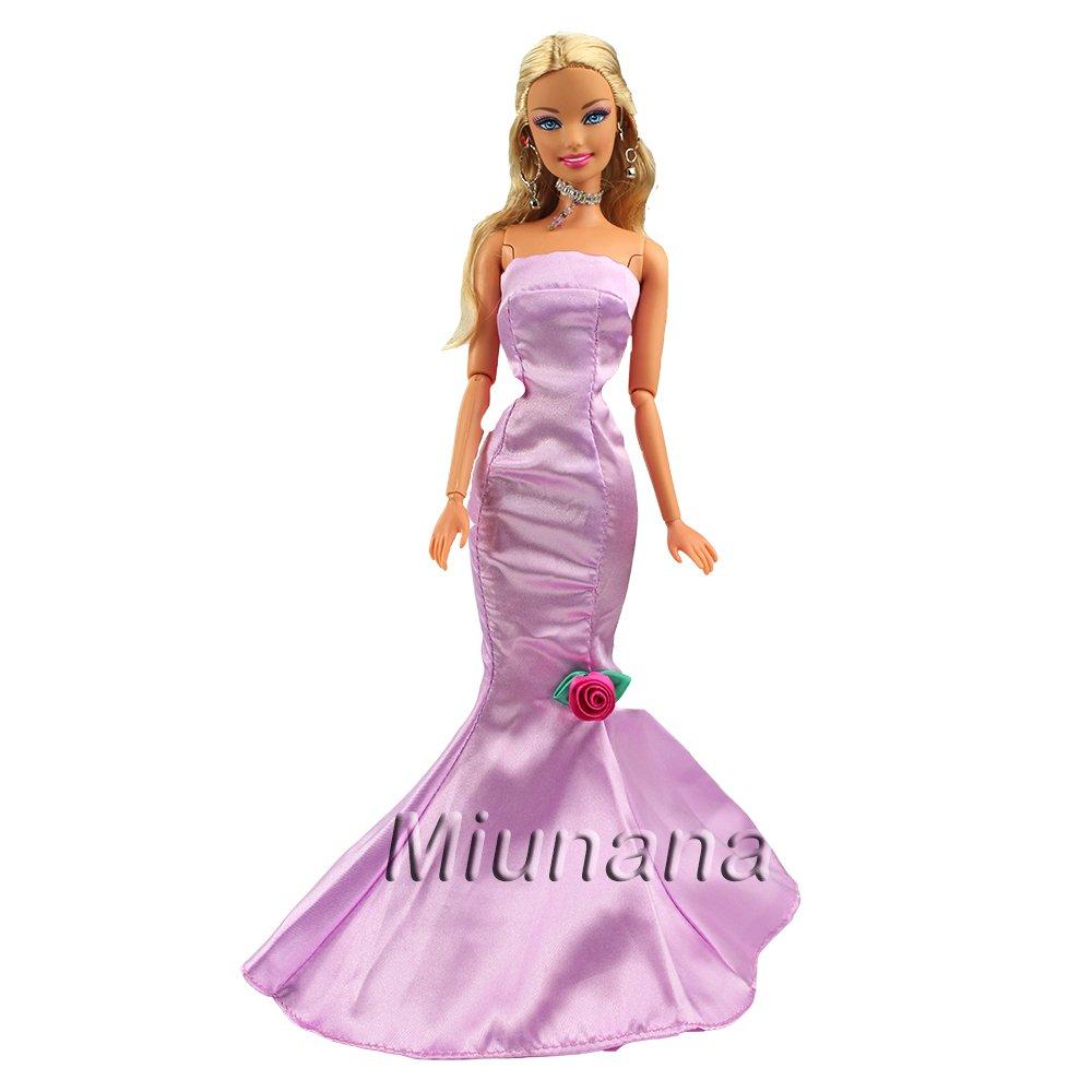 a27b7e865 Miunana 1 Vestido de Noche con Cola de pescado Vestir Ropa Fiesta como  Regalo para 11.5
