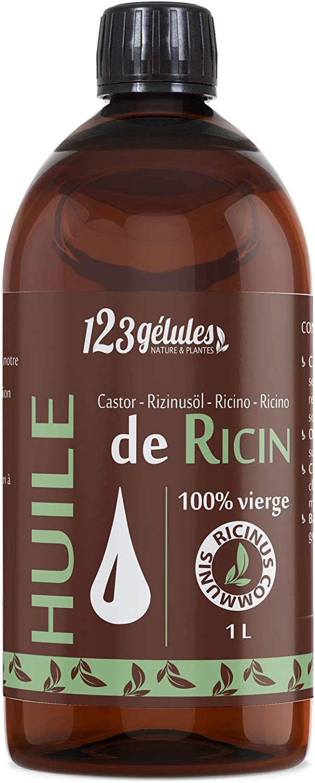 huile de ricin meilleure vente