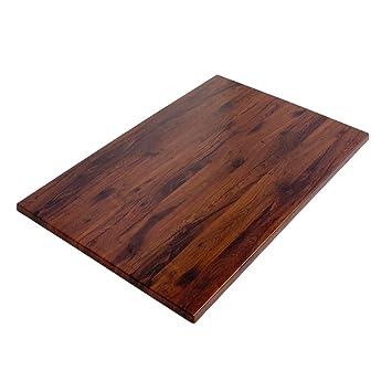 Tischplatte eiche  Werzalit / hochwertige Tischplatte / Eiche antik / Rechteckig 110 ...