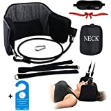 Hammock for Neck - Better Neck Massager for Neck Pain Relief, Portable Cervical Tracion Device Relieve Your Fatigue Soon, Cotton Material - More Thick and Solid, Sold by ZIME