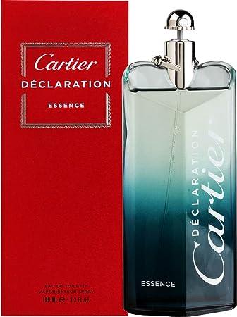 64d09891c21 Cartier Declaration Essence 100ml Eau De Toilette Spray For Him With Gift  Bag  Amazon.co.uk  Beauty