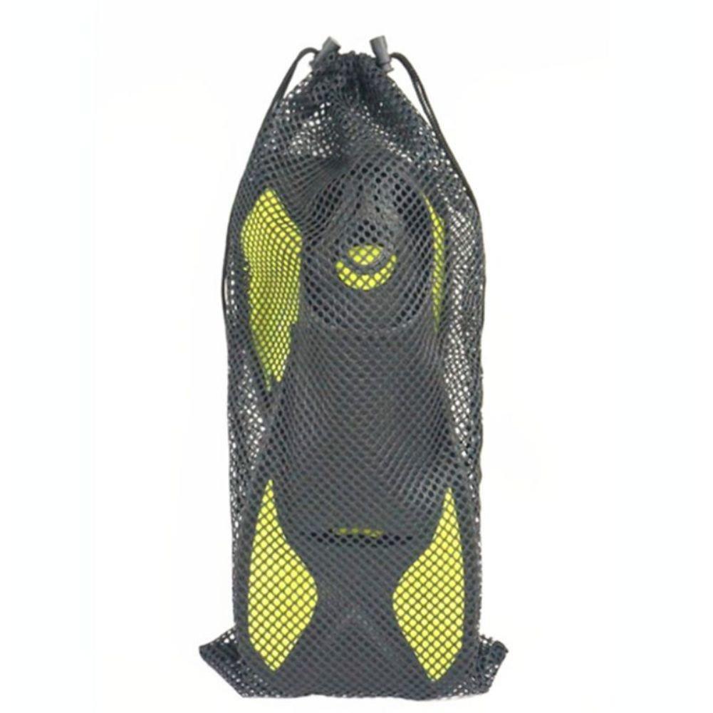 Leezo 1PC snorkeling Swim fin mesh traspirante borsa sacca Diving pieghevole leggero zaino surf custodia nylon m/L