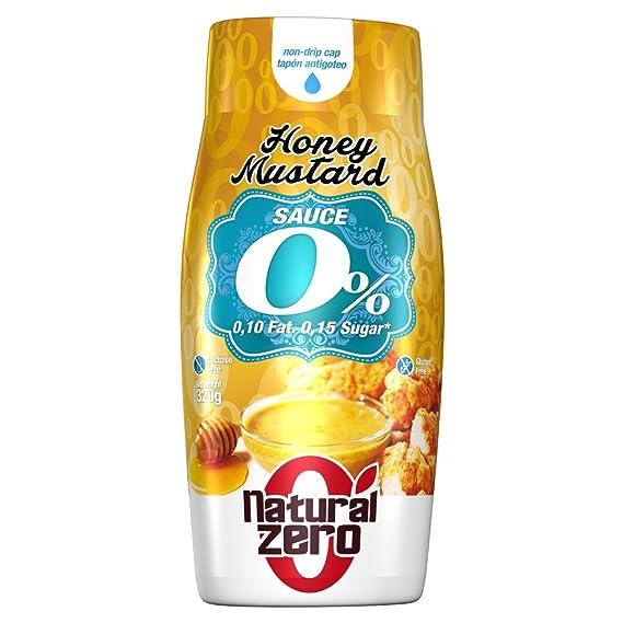 Natural Zero Salsa Mostaza y Miel 320 gr