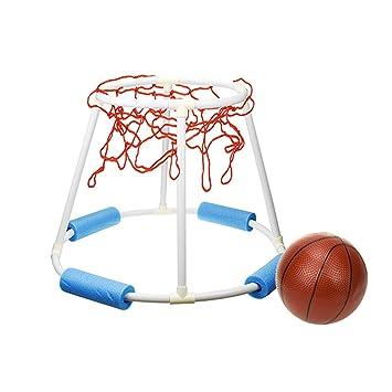 Tosbess Juego Canasta Baloncesto Hinchable Flotante ...