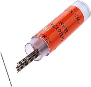 10Pcs//Set 0.5mm-1.2mm Mini Micro HSS Spiral Twist Drill Bit Drilling Bit Tool