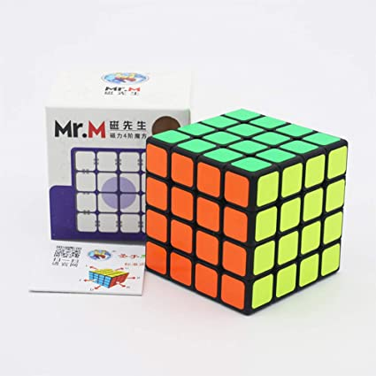 Adeeing 4x4 Square Shape Magic Cube Kids Educational Puzzle Toys
