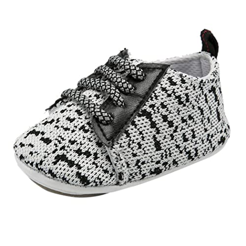Zapatos de Primeros Pasos para Unisex Bebés Niñas Niños Otoño Invierno 2018 Moda PAOLIAN Suela Blanda Calzado Antideslizante Zapatillas de Niñito Bautizo ...
