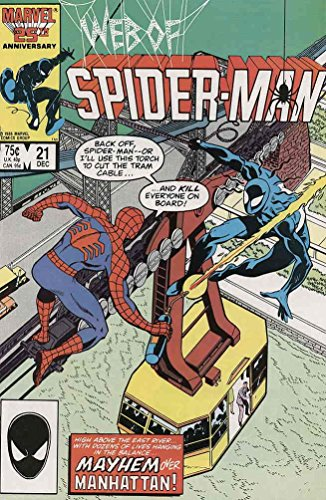 Web of Spider-Man #21 : The Enemy Unknown (Marvel Comics)