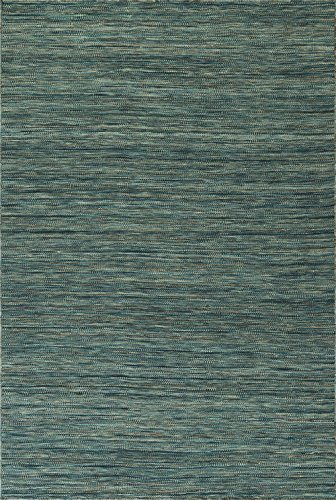 Dalyn Targon Area Rug TA1 Ta1 Turquoise Turquoise Striped Banded 3' 6