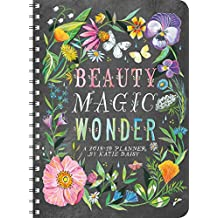 Katie Daisy 2018 - 2019 On-the-Go Weekly Planner: 17-Month Calendar with Pocket