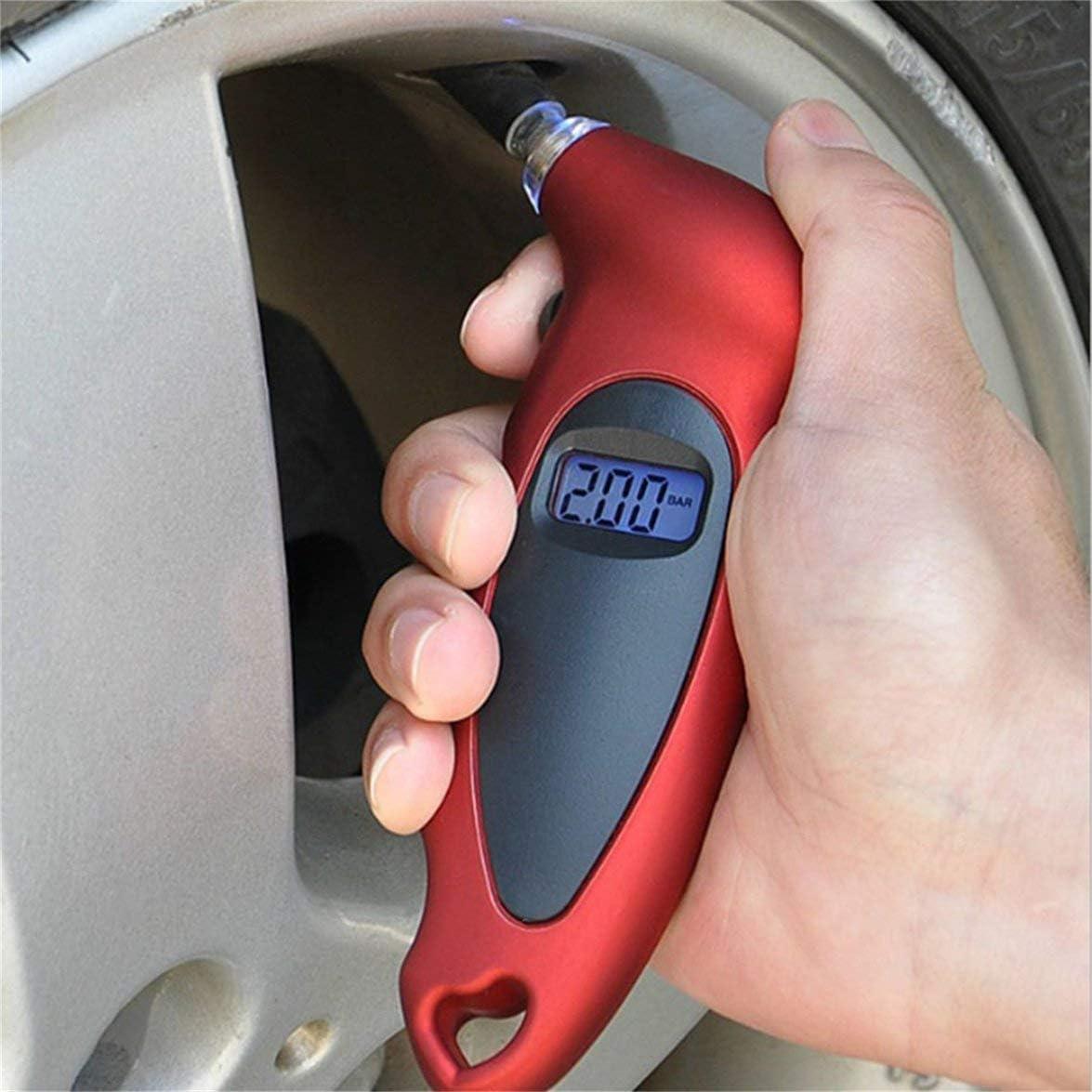Monllack Professionelle LCD Display Auto Auto Motorrad Digitale Reifen Luftdruckmesser Manometer Tester Tool Reifen Manometer